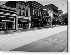 Historic Buford Downtown Area Acrylic Print