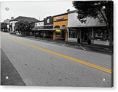 Historic Buford In Selective Color Acrylic Print