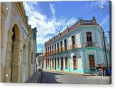 Historic Camaguey Cuba Prints 2 Acrylic Print