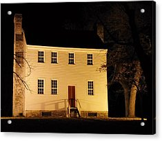 Historic Carter Mansion  Acrylic Print