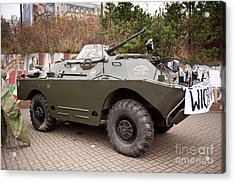 Historic Combat Vehicle Martial Law Acrylic Print