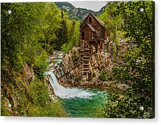 Historic Crystal River Mill  Acrylic Print