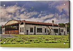 Acrylic Print featuring the photograph Historic Curtiss Wright Hanger by Steven Richardson