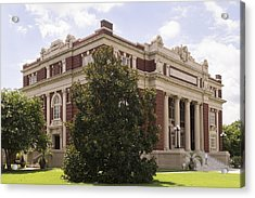 Historic Dillon County Sc Courthouse Acrylic Print