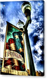 Historic Downtown Franklin Acrylic Print