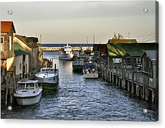 Historic Fishtown Docks Acrylic Print