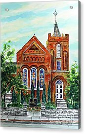 Historic Franklin Presbyterian Church Acrylic Print