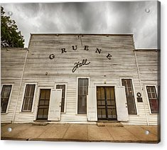 Historic Gruene Hall Acrylic Print by Stephen Stookey
