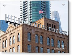Historic Hills Brothers Coffee Building With Sign San Francisco Dsc5745 Acrylic Print