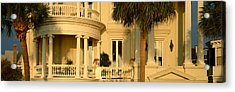 Historic Home On Battery Street Acrylic Print by Panoramic Images