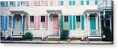 Historic Homes, Savannah, Georgia Acrylic Print by Panoramic Images