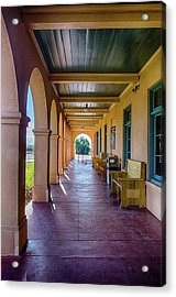 Historic Kelso Depot Acrylic Print