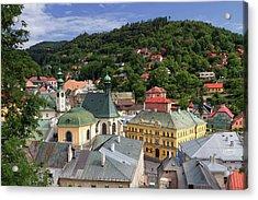 Historic Mining Town Banska Stiavnica, Slovakia Acrylic Print