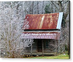 Historic North Carolina Cabin Acrylic Print
