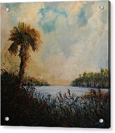 Historic Palm Acrylic Print by Michele Hollister - for Nancy Asbell