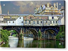 Historic Pulteney Bridge Acrylic Print