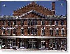 Historic Roanoke City Market Building Acrylic Print