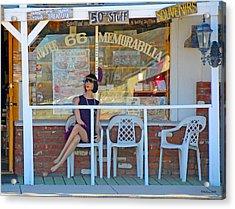 Historic Route 66 Memorabilia Acrylic Print