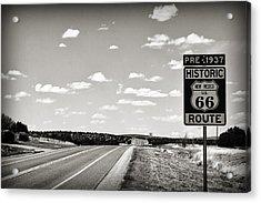 Historic Route 66 Acrylic Print