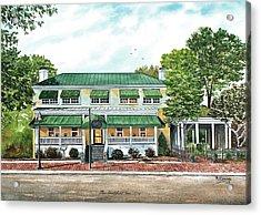 Historic Smithfield Inn Acrylic Print by Raymond Edmonds