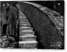 Historic Stairwelll Acrylic Print