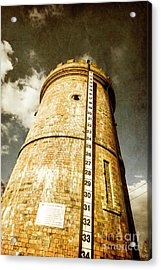 Historic Water Storage Structure Acrylic Print