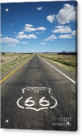 Historica Us Route 66 Arizona Acrylic Print