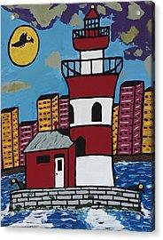Historical Michigan Lighthouse Acrylic Print