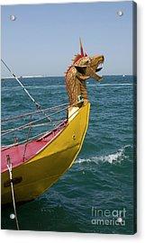 Historical Yacht Acrylic Print