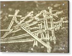 History Of The Sword Acrylic Print by Jorgo Photography - Wall Art Gallery