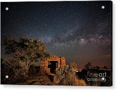 Acrylic Print featuring the photograph History Under The Stars by Melany Sarafis