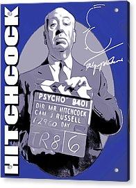 Hitchcock Acrylic Print by Greg Joens