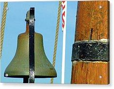 Hms Bounty Ships Bell Acrylic Print