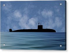 Hms Sovereign 1973 V1 Acrylic Print