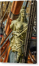 Hms Surprise Acrylic Print by Bill Gallagher
