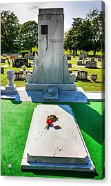 Hnak Williams Gravestone Acrylic Print by Chris Smith