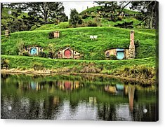 Hobbit By The Lake Acrylic Print