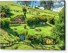 Hobbit Hills Acrylic Print
