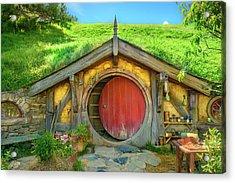 Hobbit House Acrylic Print by Racheal Christian
