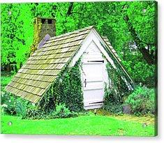 Acrylic Print featuring the photograph Hobbit Hut by Susan Carella
