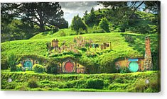 Hobbit Lane Acrylic Print