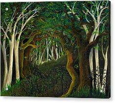 Hobbit Woods Acrylic Print