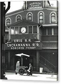 Hoboken Ferry C1966 Acrylic Print by Erik Falkensteen
