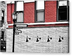 Hoboken Lights Acrylic Print