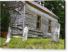 Hocking Hills Church Acrylic Print
