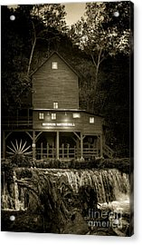 Hodgson Gristmill Acrylic Print by Robert Frederick