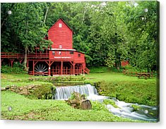 Hodgson Water Mill Acrylic Print by Cricket Hackmann