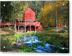 Hodgsons Mill  Acrylic Print by Marty Koch