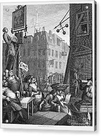 Hogarth: Beer Street Acrylic Print by Granger