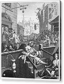 Hogarth: Gin Lane Acrylic Print